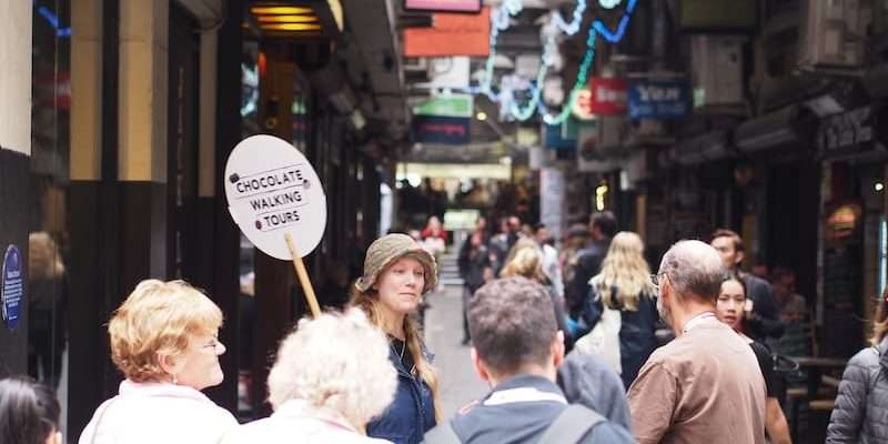 Melbourne Lanes & Arcades Chocolate & Dessert Walking Tour