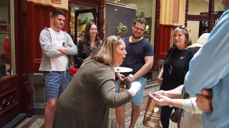 Melbourne City Sightseeing Private Chocolate Walking Tour